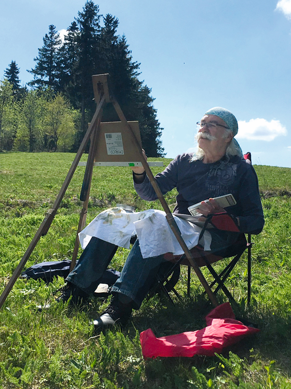 Alfons kiefer Pleinairmaler