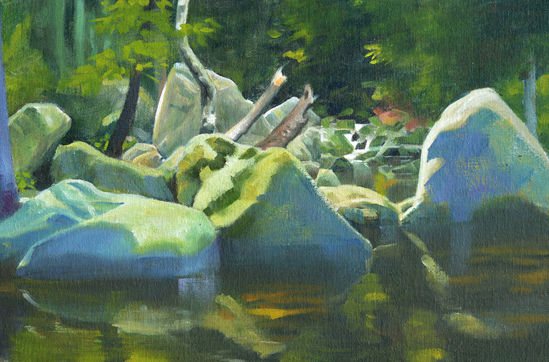 Harz Pleinairmalerei