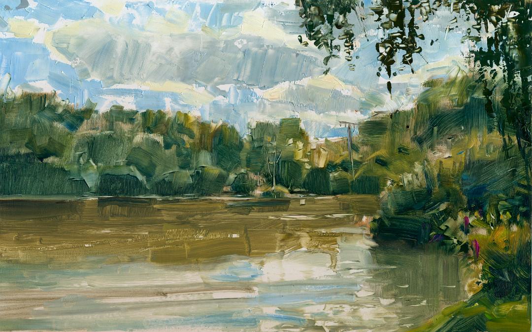 Silbersee Pleinairmalerei